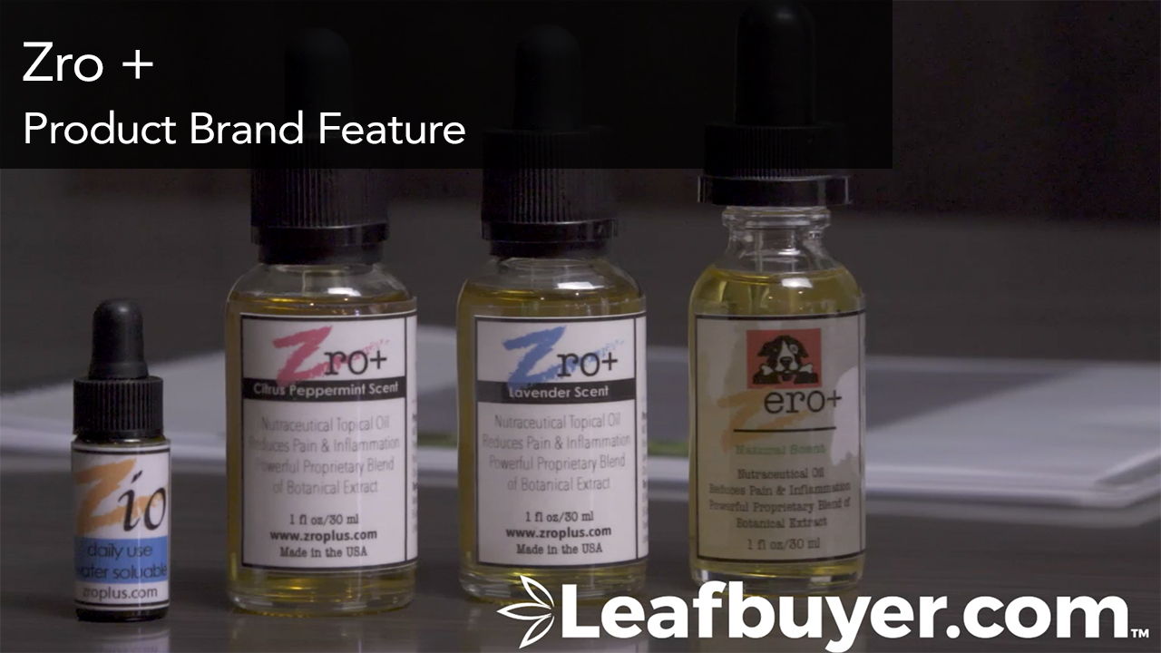 zro+ CBD Products