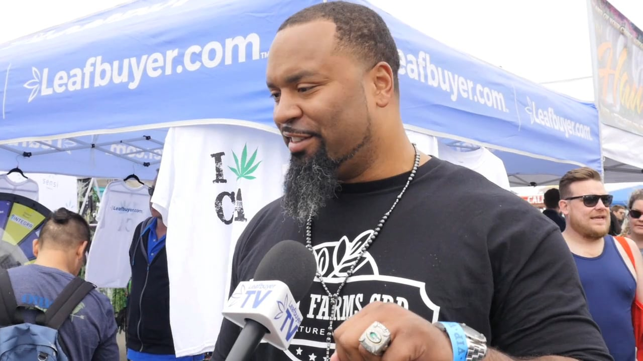 Former NFL Player Says CBD Helped Him Quit Alcohol Pills for Pain