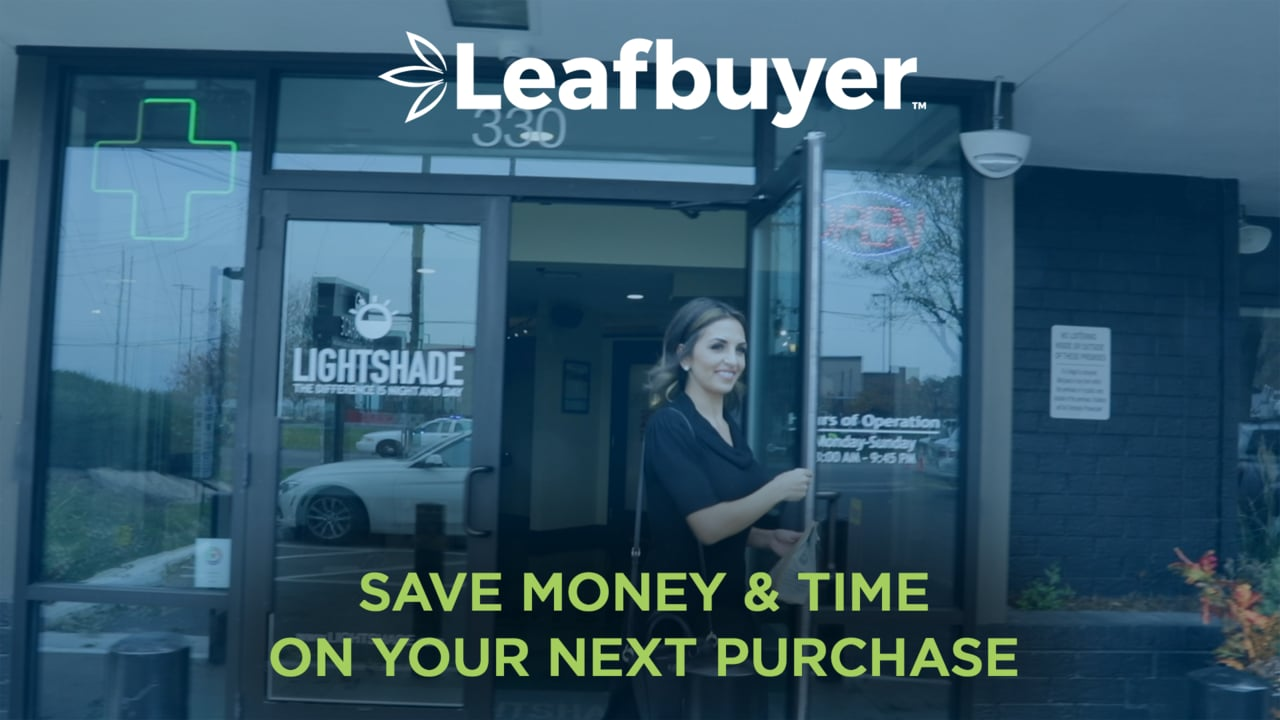Saver time and money on cannabis